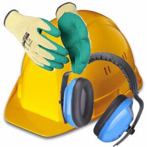 [:fr]Casques, gants & lunettes de protections, protèges-genoux & oreilles[:de]Helme, Schutzhandschuhe & -Brillen, Knie- & Gehöhrschutz[:]